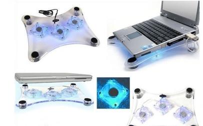 Masuta laptop cu 3 coolere