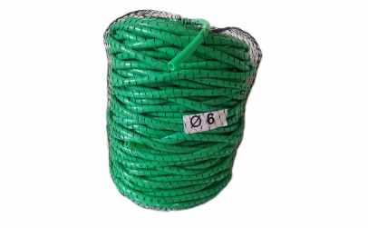 Tub de vinil Ø 6 mm, 1kg = 80 m