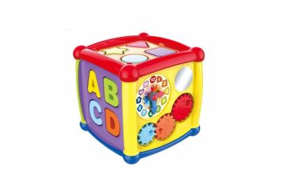 Jucarie educativa Fancy Cube