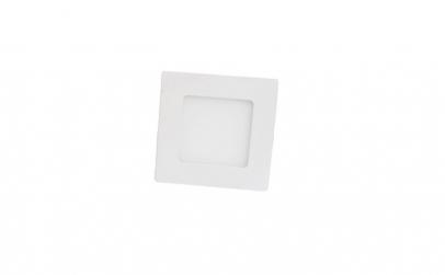 Panou LED incastrat cu rama alba, 6 w,