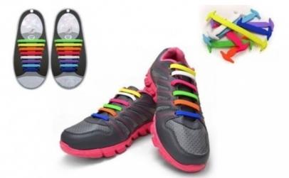 Set 16 sireturi elastice, multicolore