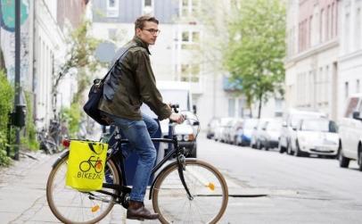 Sacosa de cumparaturi de bicicleta