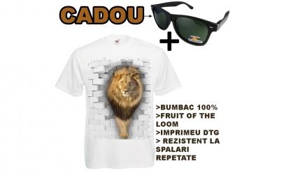 Tricou LEU+OCHELARI CADOU
