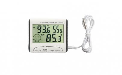 Termometru si higrometru digital de