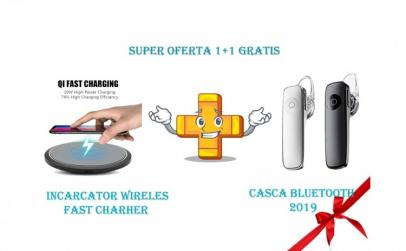 Pachet incarcator wireless