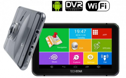 GPS cu Android si Camera FullHD