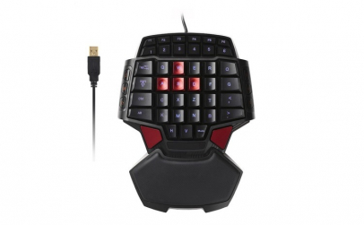 Tastatura Gaming - Game Pad, Iluminata,