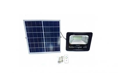 Proiector LED 60 W + Panou Solar