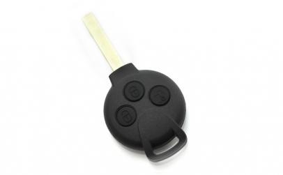 Smart - Carcasa cheie 3 butoane