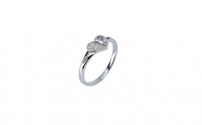 Inel Shinny Heart din Argint 925,