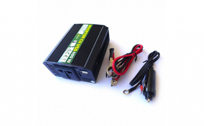 Invertor cu USB 400W RoGroup, 12V-220V