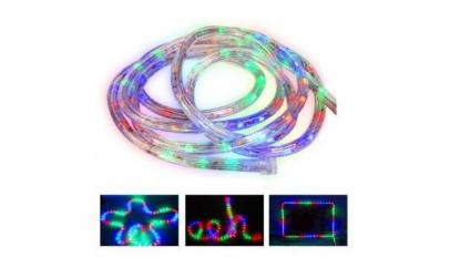 Furtun luminos- 10m liniari, beculete