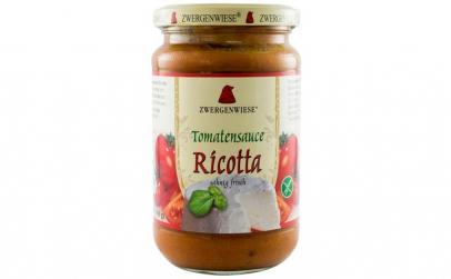 Sos BIO de rosii cu Ricotta - 340 g
