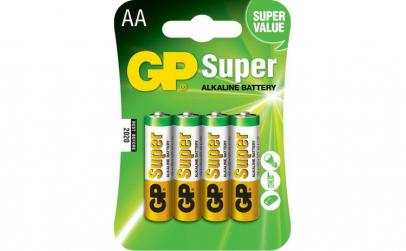 Baterie Alcalina Super GP R6 (AA), 4 buc