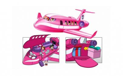 Gifts  Set de jucarii  avion