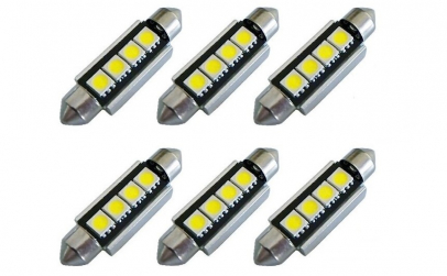 Bec Led auto C5W ( sofit ) F-40mm
