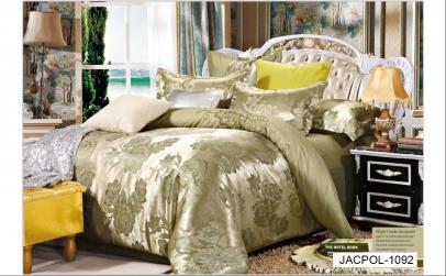 Lenjerie pentru pat dublu Poli Jacquard