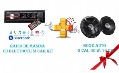 Radio de masina cu bluetooth si car kit
