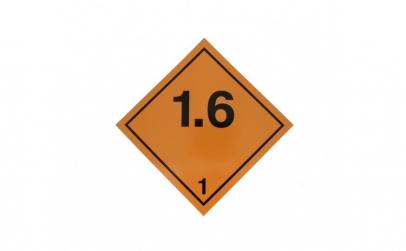 Autocolant eticheta avertizare
