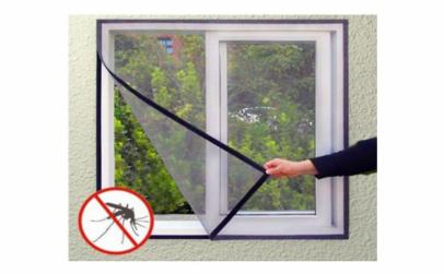 Set 3 plase de geam impotriva insectelor