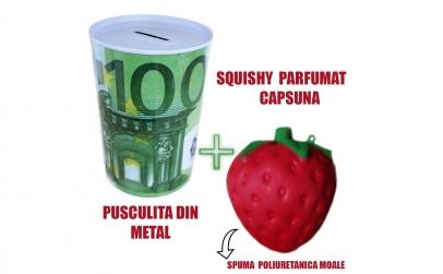 Pusculita metalica + Squishi