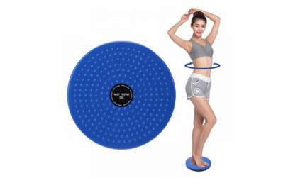 Disc fitness pentru rasucirea taliei
