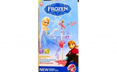 Microfon cu stativ Frozen