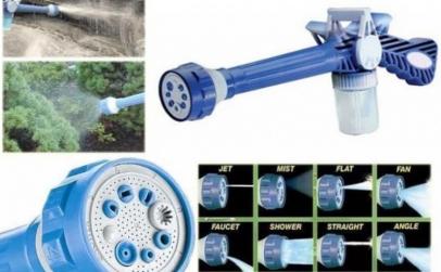 Pistol de apa ideal pentru gradina