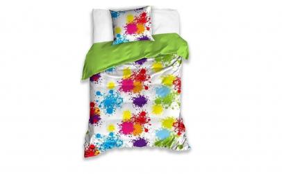 Lenjerie de pat multicolora