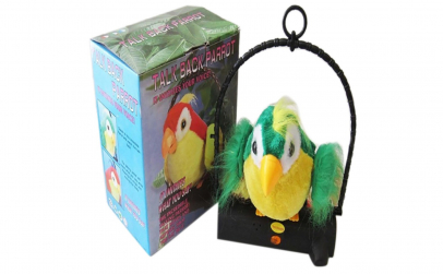 Papagal vorbitor jucaria