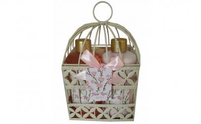 Set cadou in colivie cu 4 produse aroma