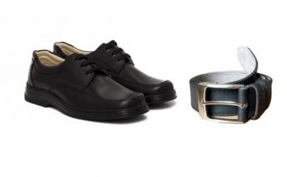Pantofi siret+curea