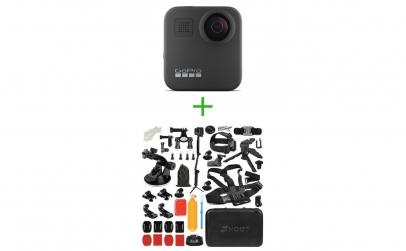 GoPro Hero MAX 360 + Accesorii