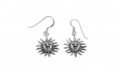 Cercei din argint - Soarele
