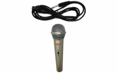Microfon uni-directional dinamic cu fir