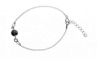 Bratara argint fetite cu smarald natural