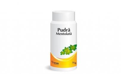 Pudră mentolată Viva Pharma, 75 g