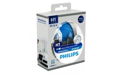 Set 2 Becuri auto Philips White Vision