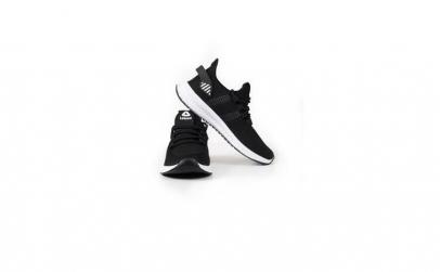 Sneakers Letoon negru-alb 2102