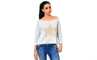 Bluza Starshine cu tinte - Gri