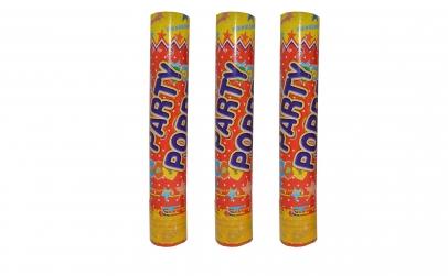 Set 3 tunuri cu confetti - 30 cm