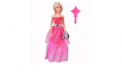 Papusa Betty cu rochie de bal
