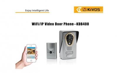 Sonerie WiFi cu camera TCP/IP Kivos KDB4