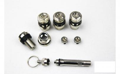 Set 4 valve ascunse profesionale cromate