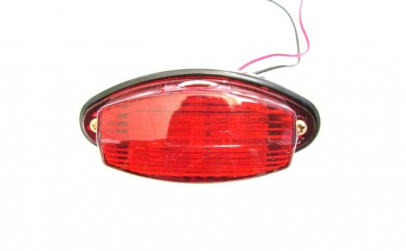 16 x 05 Lampa LED 12V Rosu