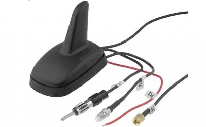 Antena SHARK, radio AM/FM, GPS, GSM, cu
