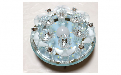 Aplica LED din sticla - 24W