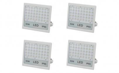 Pachet 4 Proiectoare LED 50W