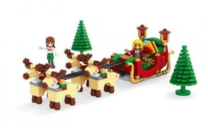 Joc de construit 228 ps Santa Slegde