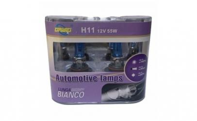 Set 2 Bec Auto 12V, 55W H11 Halogen